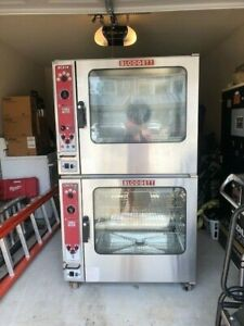 Blodgett Double Stack Gas Combi Ovens Top Bcx14 Bottom Cnvx14