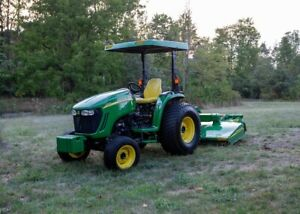 2014 John Deere 4320 Compact Utility Tractor Only 112 7hrs