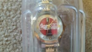 2002 COCA COLA Watch In PLASTIC Coke Bottle - NEW - Never Worn