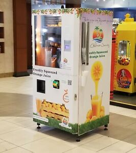 Orange Juice Vending Machine Or130