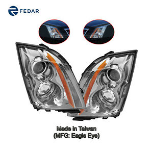 Headlight Fit 2008 2014 Cadillac Cts Sedan 2010 14 Wagon 2011 2015 Coupe Pair