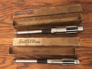Lot 2 Ward 25 32 27 32 Craftsman 21 32 23 32 Adj Expansion Hand Reamers Usa