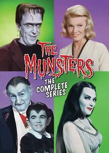The Munsters The Complete Series DVD NEW $29.99