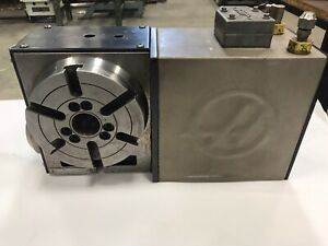 Haas Hrt160 4th Axis Rotary Table Indexer Sn 166132