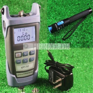 Optical Power Fiber Meter And 1mw Visual Fault Locator Fiber Optic Cable Tester