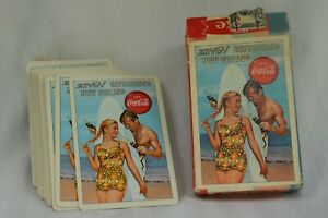 VINTAGE 1962  COCA-COLA PLAYING CARDS - COMPLETE SET