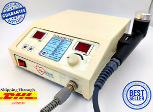 Portable Ultrasound Therapy Machine Pain Relief 1mhz Chiropractic Massager Unit