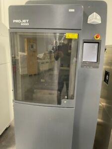 2013 3d Systems Projet 6000 Hd Sla 3d Printer 10x10x10 Stereolithography 300hour