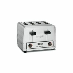 Heavy duty 1800w 4 slot Toaster 120v Waring Commercial Wct800rc