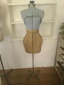 Vintage Adjustable Dress Form On Stand 40 s 50 s