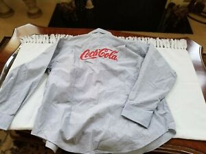 COCA-COLA Vintage Uniform Shirt ' World of Coca-Cola ATLANTA