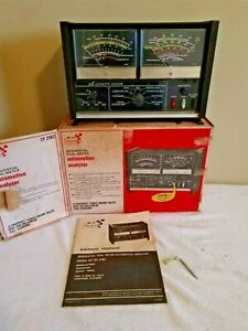 Sears Sequential Dual Meter Automotive Analyzer 28 2812 W Box Instructions