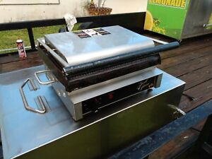Star Gx14is Commercial Panini Grill Express 2 sided Sandwich Press 120v Pickup