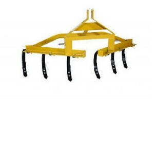 New Tarter Farm Ranch 3 point One Row Cultivator Yellow