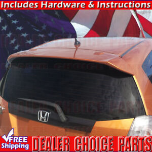 2009 10 11 12 2013 Honda Fit Factory Style Roof Spoiler Wing Unpainted
