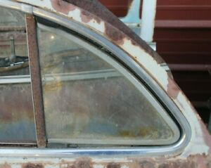 1941 1942 1946 1947 1948 Buick Cadillac Pontiac Olds Left Rear Vent Window F