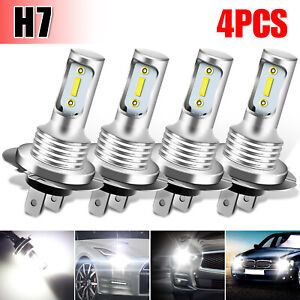 4x 48led Rgb Car Interior Usb Atmosphere Light Strip Music Bluetooth App Control