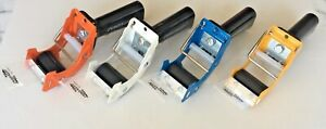 2 Tape Dispenser Fast Reload Mousetrap Style Heavy Duty Professional Grade