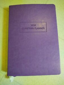 The Christian Planner 2020 Purple Leather