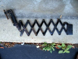 Model T 1913 Expandable Running Board Luggage Rack possibly Model A