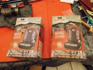Mossy Oak Universal Seat Cover Camouflage Camo Truck Suv Car New In Box Pair