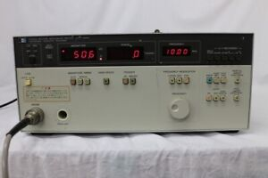 Hp 4193a 400khz 110mhz Vector Impedance Meter
