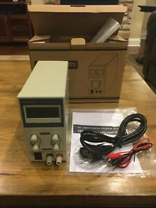Tekpower Tp3005e Regulated Dc Variable Power Supply 0 30v At 0 5a