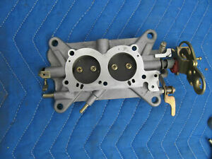 1967 Chevrolet Corvette Holley 3660 4055 Carburetor Center Base Plate New