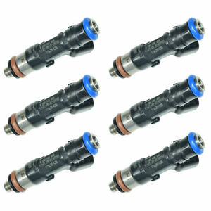 Genuine 6 Bosch Fuel Injectors Oem For 2005 2010 Ford Mustang 4 0l Us