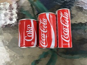 Yes Coke Yes Can -China  Coca Cola Israel  And Coca Cola Spain Cans- Last Chance