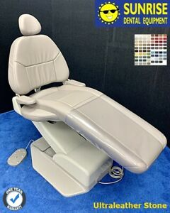 Adec 1040 Cascade Dental Patient Chair Plush Style Ultraleather Color Choice