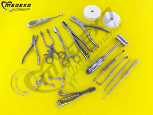 Standard Veterinary Orthopedic Set Surgical Veterinary Instruments