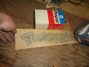 1972 Plymouth Duster Twister Decal Nos 3685226 B