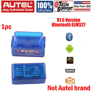 Elm327 V1 5 Bluetooth Auto Diagnostic Tool Interface Scanner Obd2 Code Reader