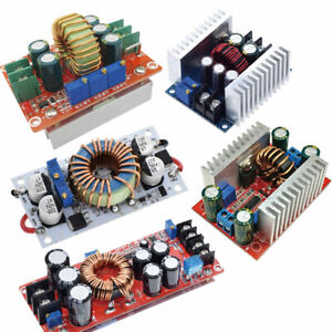 Dc Converter 10 12 15 20a 150 250 300 400 1200w Step Up Step Down Buck Boost Us