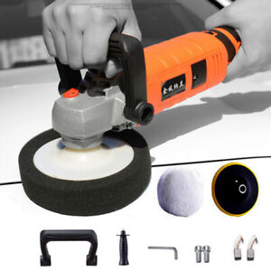 1580w 7in Car Electric Polisher Buffer Sander Waxer Machine Variable 7 Speed