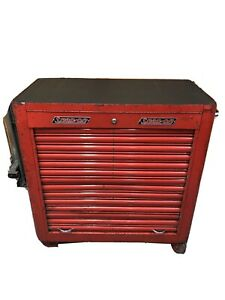 Rare Vintage 1954 Snap on Krh 300b rolla Bench Rolling Tool Chest