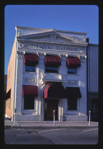 Photo of Independent Telephone Building  Main Street  Missoula  Montana 1987 b4