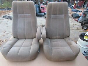 87 91 Full Size Ford Bronco Eddie Bauer Lh Drivers Bucket Seat Only