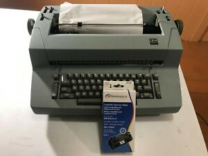 Ibm Selectric Ii Electric Typewriter Beige With Extra Ribbon