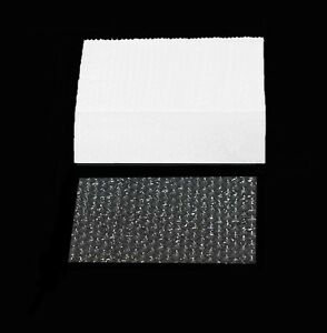 50 Sheets Bubble Wrap Small Item Sealed Air Shipping Packing Moving 6 X 11 New