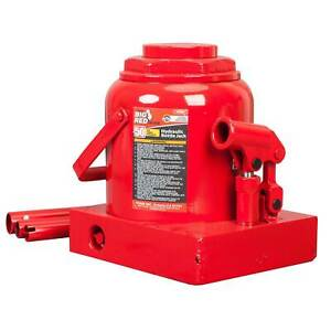 Torin Big Red 50 ton Capacity Hydraulic Industrial Steel Bottle Jack used