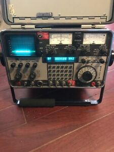 Ifr Fm am 1200s 1ghz Service Monitor Plus Extras
