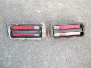 1970 1971 Plymouth Duster Tail Light Assemblies Pair Good Condition
