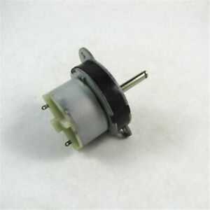 Brand New Torque Gear Box Motor 12v Dc 3rpm High Torque Low Noise