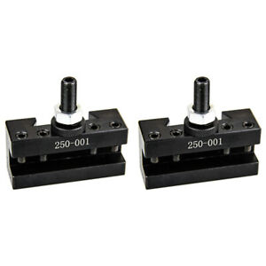 All Industrial 2 Pack Axa 1 Quick Change Turning Facing Lathe Tool Holders