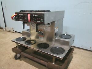 bunn Commercial H d pour over automatic S s Coffee Brewer W 6 Warmers