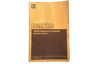 Cat Caterpillar 3208 Industrial Engine Parts Book Manual 9on52893 Stock 4ff