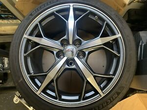 Factory Chevrolet Corvette Wheels Trident 2020 C8 Set With Tires And Tpms