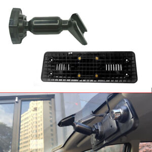 Car Interior Rear View Mirror Back Plate Panel Bracket Mount Car Dvr Universal